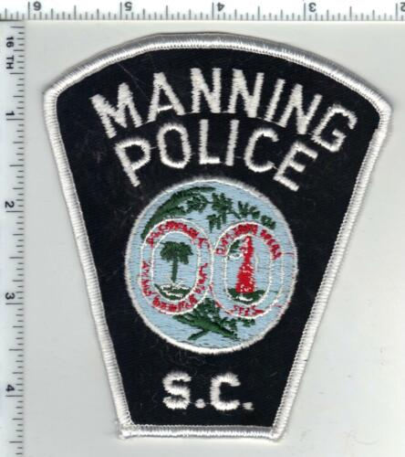 Manning Police (South Carolina) 2nd Issue Shoulder Patch