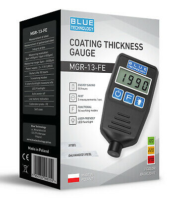 Paint Coating Thickness Gauge For Cars Mgr-13-fe From Produzent Made In Eu