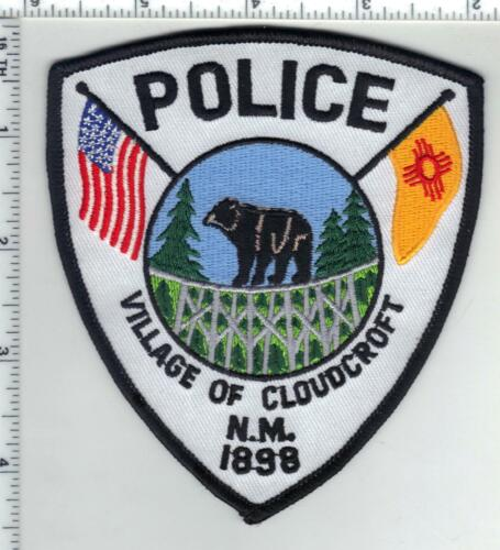 Village of Cloudcroft Police (New Mexico) 2nd Issue Shoulder Patch
