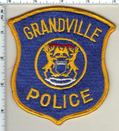 Grandville Police (Michigan) Uniform Take-Off Shoulder Patch from 1991