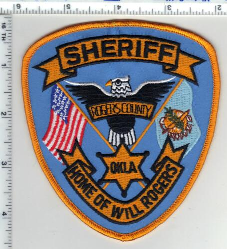 Rogers County Sheriff (Oklahoma) Shoulder Patch from the 1980