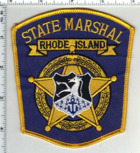 State Marshal (Rhode Island) 1st Issue Shoulder Patch