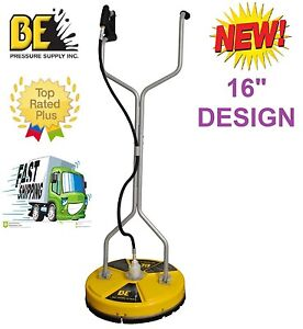 Be pressure whirl a way 16 39 39 flat surface cleaner washer for Pressure washer concrete cleaner solution