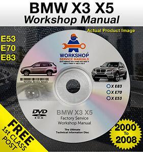 Bmw x3 Repair manual free download
