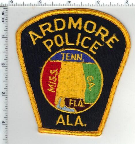 Ardmore Police (Alabama) 2nd Issue Shoulder Patch
