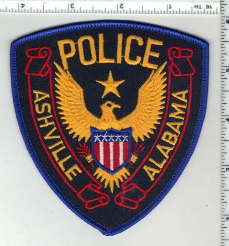 Ashville Police (Alabama) 2nd Issue Shoulder Patch