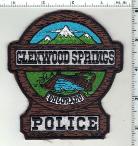 Glenwood Springs Police (Colorado) 2nd Issue Uniform Take-Off Shoulder Patch