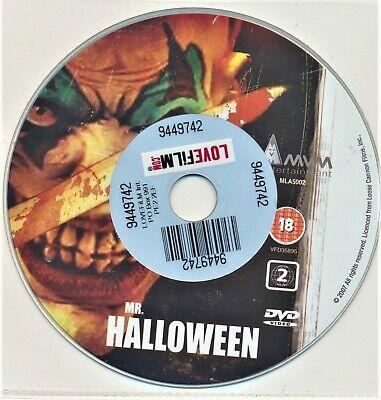 Mr Halloween DVD