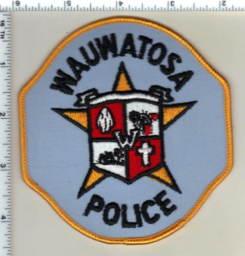 Wauwatosa Police (Wisconsin) 2nd Issue Shoulder Patch from 1991