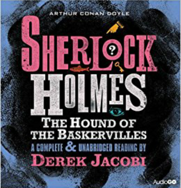 HOUND OF THE BASKERVILLES - ARTHUR CONAN DOYLE  SHERLOCK HOLMES 6 CD AUDIO BOOK