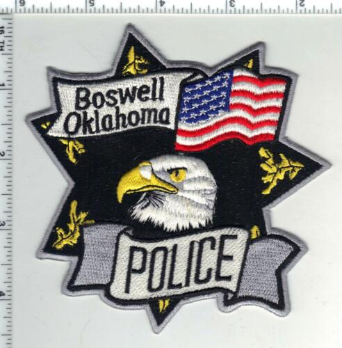 Boswell Police (Oklahoma) 1st Issue Shoulder Patch