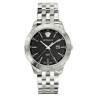 Versace Men's Watch Univers GMT Stainless Steel VEBK00418