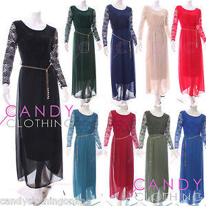 New-Ladies-Plain-Netted-Abaya-Borkas-Jilbab-Burka-Maxi-Dress-Arabian-Moroccan
