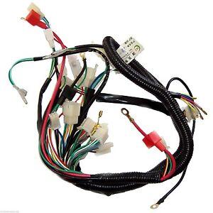 152fmh atv 110 wiring harness wire-loom-wiring-harness-wireloom-50cc-110cc-125cc-atv ... 110 roketa eagle atv wiring harness