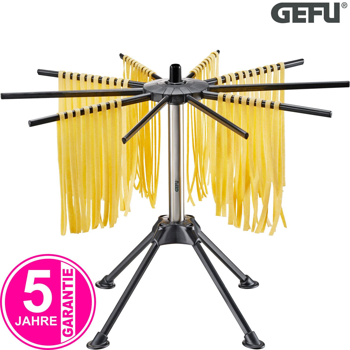 GEFU 28371 Pasta-Trockner Nudel Ständer Pasta-Halter Zubehör für Nudelmaschine