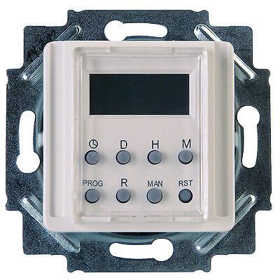 Kopp Unterputz-Zeitschaltuhr digital 8 Progamme weiß Neuware