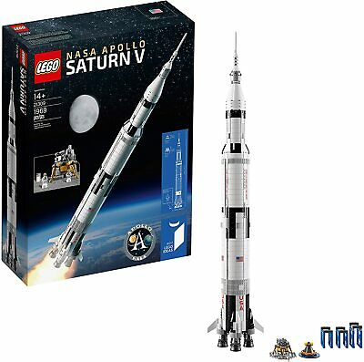 LEGO IDEAS NASA APOLLO SATURN V 21309 FACTORY SEALED NEW RETIRED