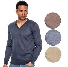 True Rock Men's Lightweight Long Sleeve V-Neck Sweater