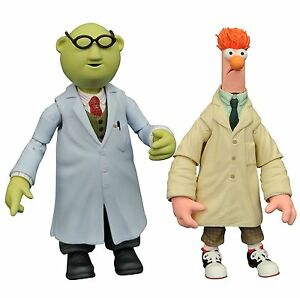 The Muppets Diamond Select Figures – Bunsen and Beaker JAN168644