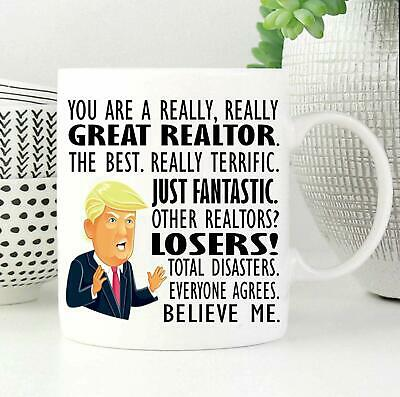 REALTOR Gift Trump Mug Realtor - Best Realtor - Gifts for Real Estate