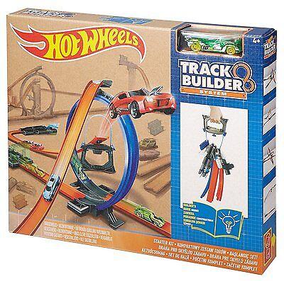 Mattel Original Hot Wheels Spielbahnen Track Builder Starter Set Kinder Spielzeu