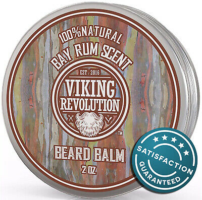 Bay Rum Beard Balm - All Natural Argan Oil and Jojoba Oil by
