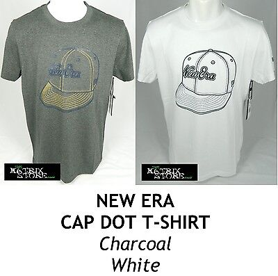 NEW ERA CAP DOT MENS T-SHIRT - VARIOUS COLOURS