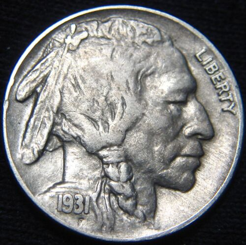 LOW Mintage KEY Date 1931-S BUFFALO NICKEL 5¢! Combined S&H Available GG104MM