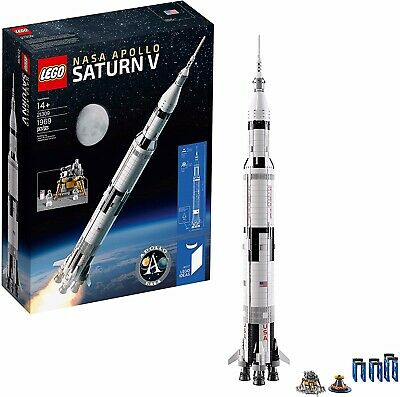 LEGO 21309 Ideas NASA Apollo Saturn V - Brand New and Sealed - Fast Shipping