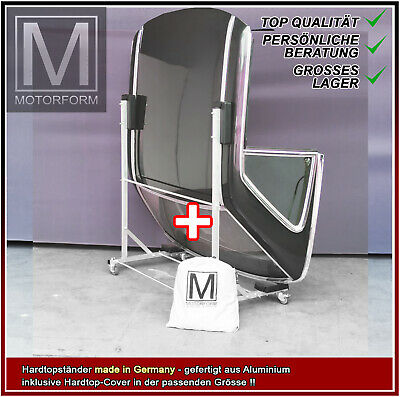 Mercedes SL R129 129 Hardtopständer PLUS Hardtop Cover WEICH Rollwagen Germany