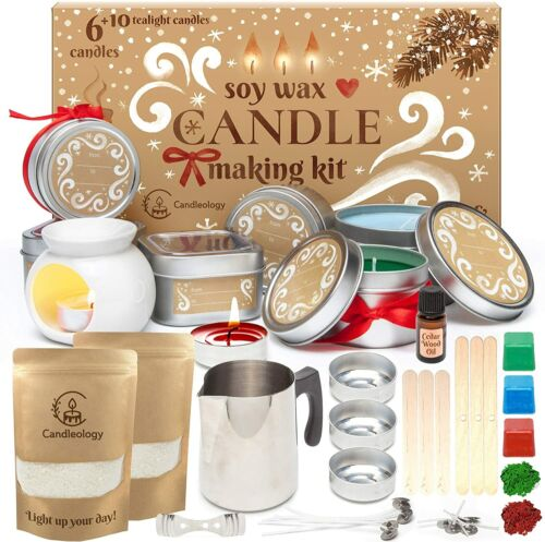 Soy Candle Making Kit for Adults - Candle Making Supplies - Crafts For Adults