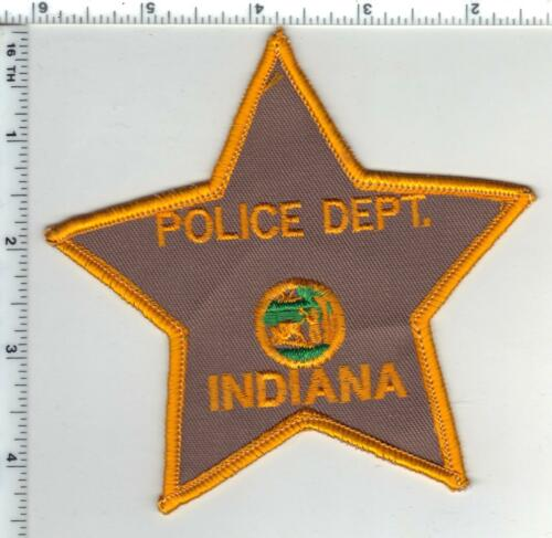 Indiana Police Department (Indiana) Shoulder Patch - New from the 1980