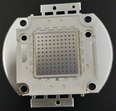100w 660nm 20-25v 6000lm Deep Red High Power Led Plant Grow Growth Light Lamp