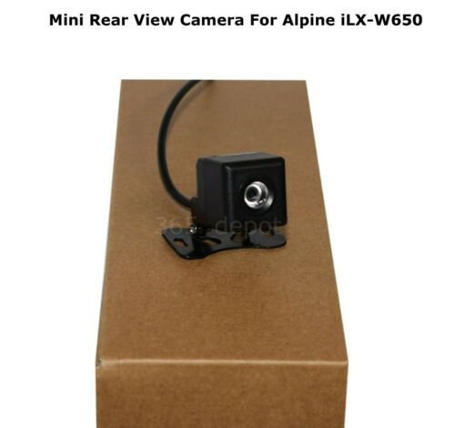 Mini Rear View Camera For Alpine ILXW650 ILX-W650 Waterproof Night Vision