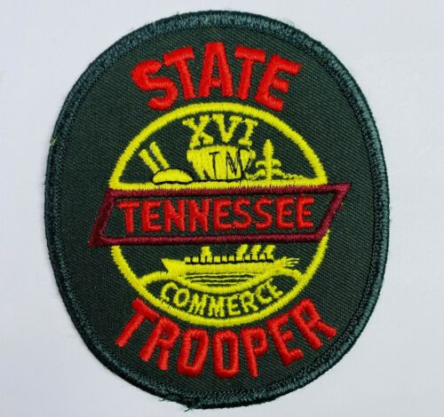Tennessee State Police Trooper Green TN Patch (A2-B)