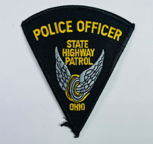 Police Officer Ohio State Highway Patrol Patch (A2)