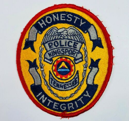 Kingsport Police Tennessee TN Patch (A3)