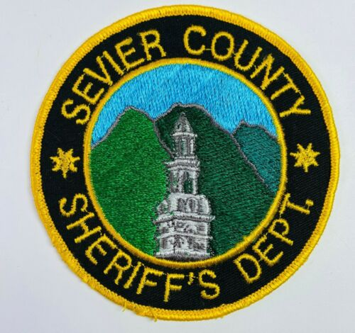 Sevier County Sheriff Tennessee TN Patch (A2)