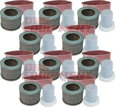 Stihl Ts350 Ts510 Ts760 Non-oem Old Style Air Filter Set 10 Pack - 4201-140-1801