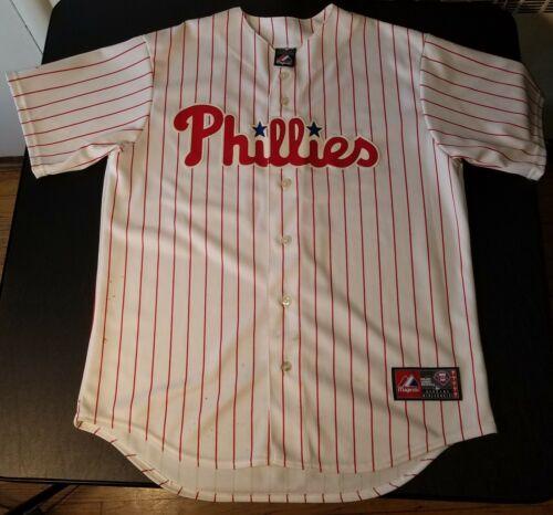 PHILADELPHIA PHILLIES jersey ⚾ Majestic ⚾ Jimmy Rollins ⚾ J-Roll  2007 MVP