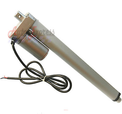 Linear Actuator 18  Inch Stroke Heavy Duty 12 Volt Dc 200 Pound Max Lift 12V