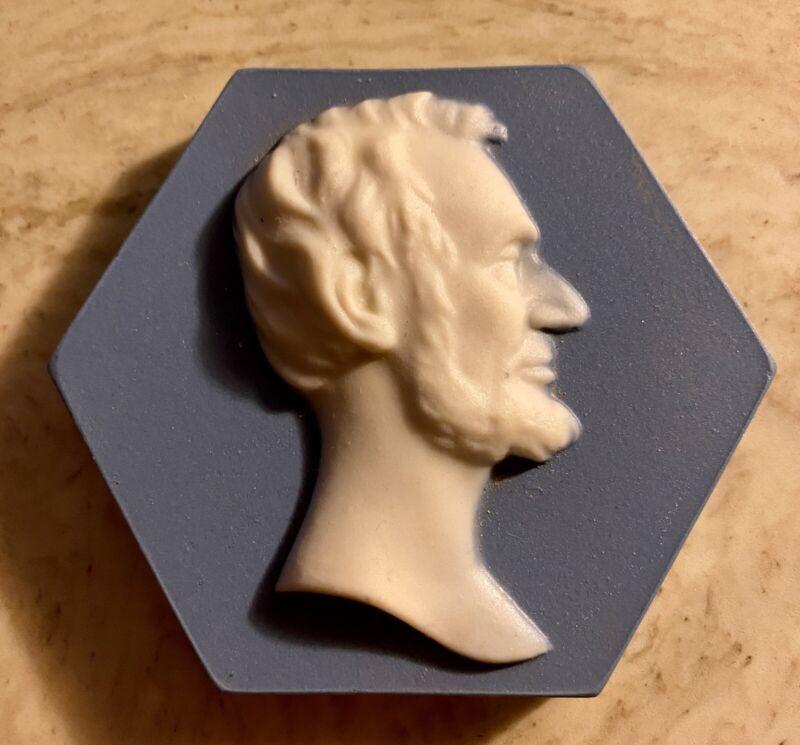 Mosaic Tile Co. Paperweight -Lincoln Raised Profile Tile - Sen. Everett Dirksen