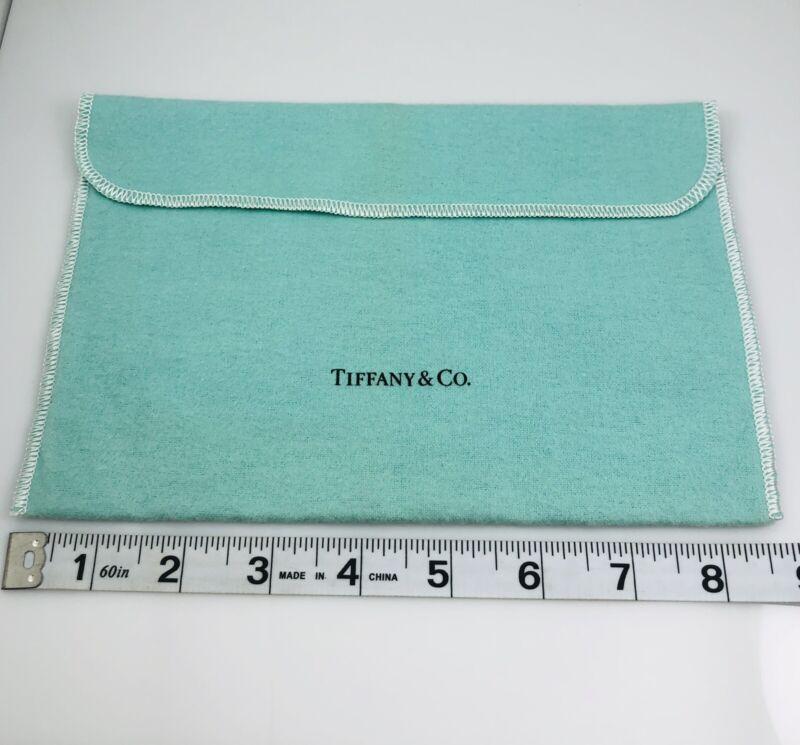 Authentic Tiffany & Co Extra Large Jumbo Blue Felt Storage Pouch