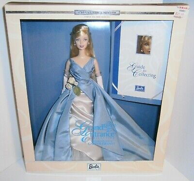 Grand Entrance by Carter Bryant 2001 Barbie Doll in blue dress NRFB