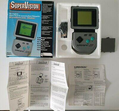 SUPER RARE SUPERVISION SUPER VISION WATARA OVP Nintendo Game boy Boxed NOE
