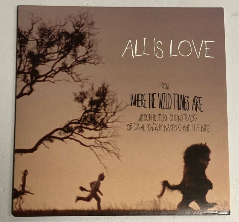 All Is Love Karen O And The Kids Where The Wild Things Are Promo LP Record Rare