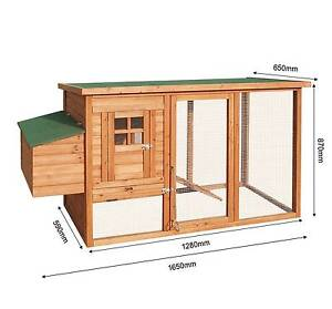 Brand New Large Chicken Coop Rabbit Hutch Guinea Hen House Cage Auburn Auburn Area Preview
