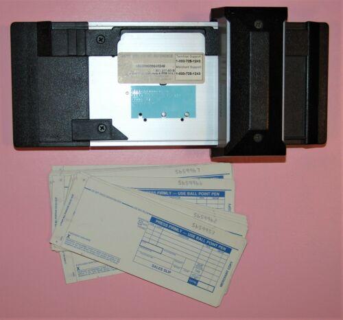 Bartizan Manual Credit Card Imprinter Slider Used w/Sales Slips