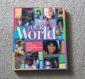 Disney Learning - Our World Hard Cover Book