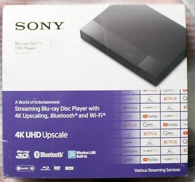 SONY BDP-S6700 4K-UPSCALING BLU-RAY DISC PLAYER WITH WI-FI - BDP-S6700/BM